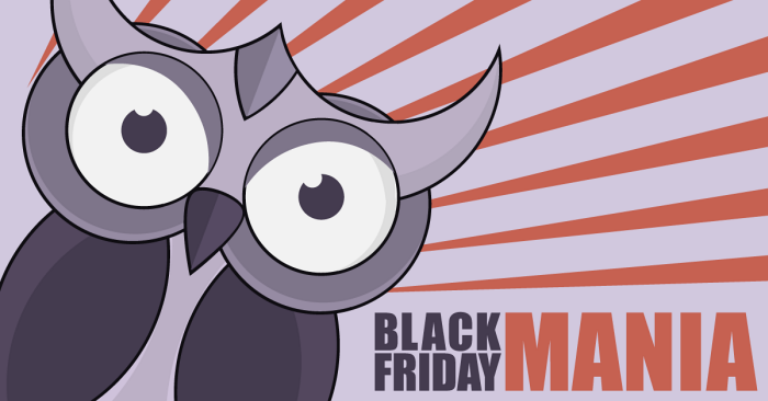 Black Friday Mania bufnita