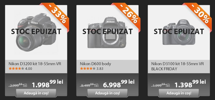 Nikon D600 Black Friday 2012