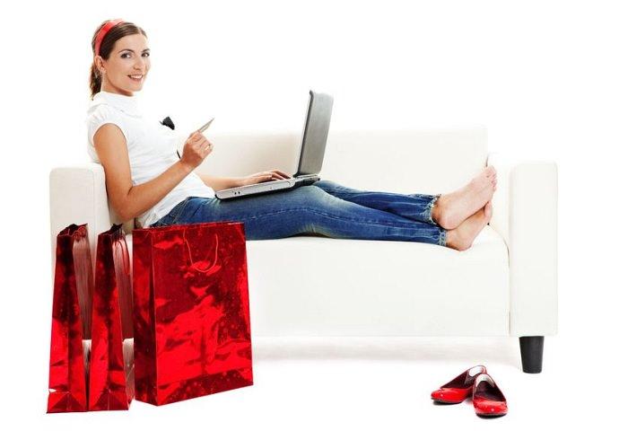 Shopping online de Black Friday