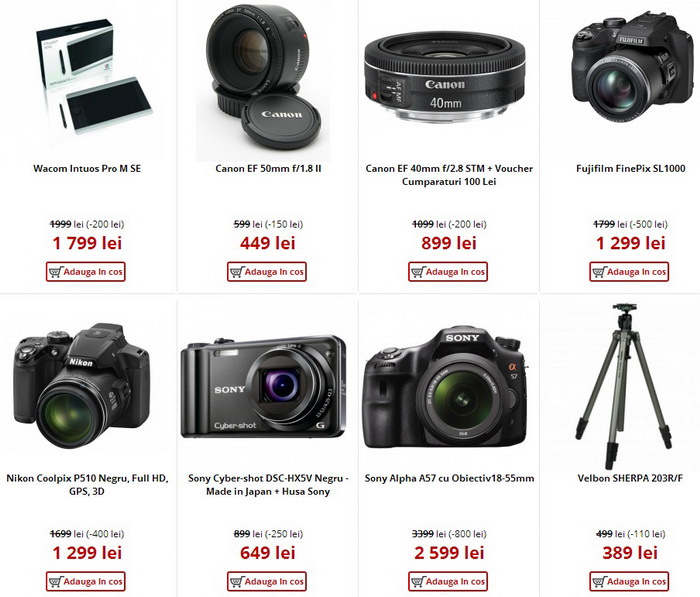 CamereDigitale Black Friday 2013