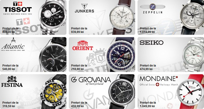 Ceasuri clasice watchshop.ro