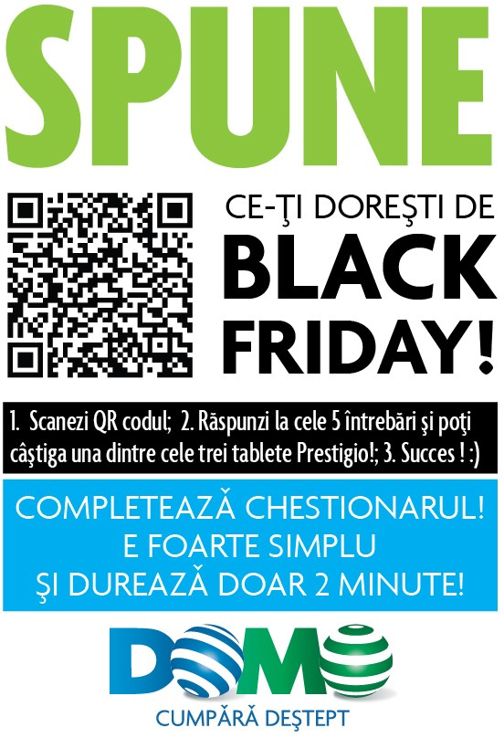 Domo Black Friday 2013 chestionar