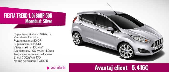 Domo masini Ford Black Friday