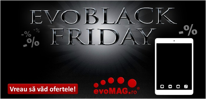 evoMAG Black Friday tablete