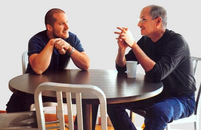 Jonathan Ive Steve Jobs