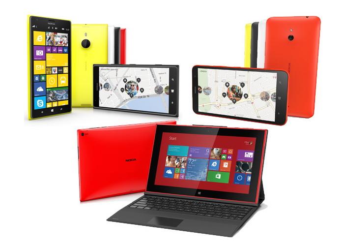 Nokia Lumia 1520, 1320, 2520