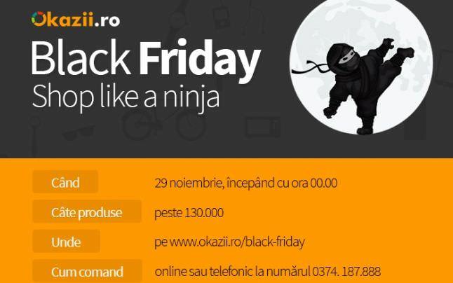Okazii Black Friday 29 noiembrie 2013