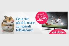 ClickShop scade pretul TV-urilor inainte de Black Friday