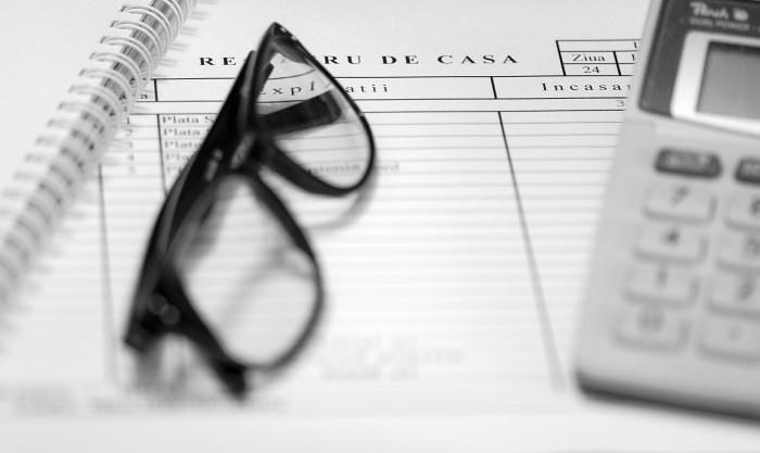 Intrari contabile trecute cu negru in registre