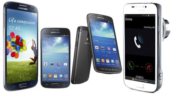 Modele Samsung Galaxy S4