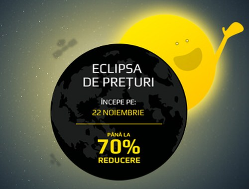 Eclipsa preturi Zorile Store 22 noiembrie 2013
