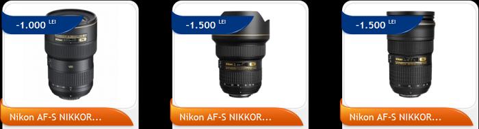 Reduceri obiective foto Nikon PRO Black Friday