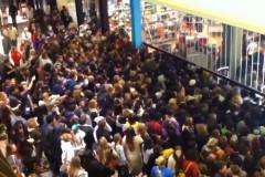 aglomeratie Black Friday SUA