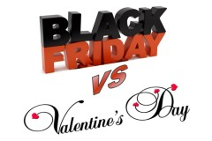 Black Driday vs Valentine's Day