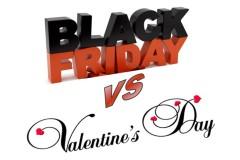 5 asemanari si 5 deosebiri intre Valentine's Day si Black Friday