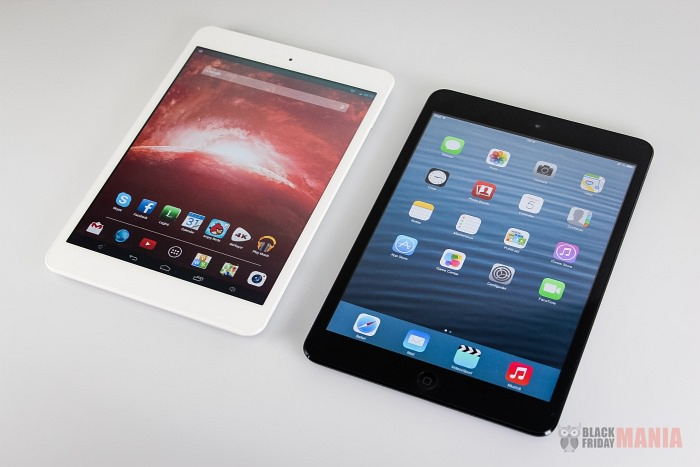 iPad Mini vs Goclever Orion 785