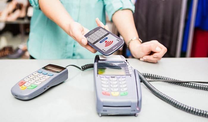 NFC smartphone plata POS