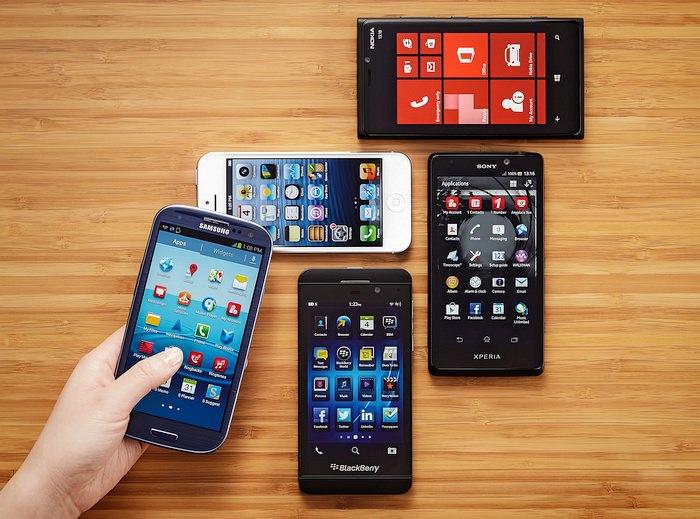 Smartphone-uri diferite