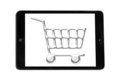 Comanda online de pe tableta