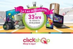 Aniversare Clickshop 3 ani