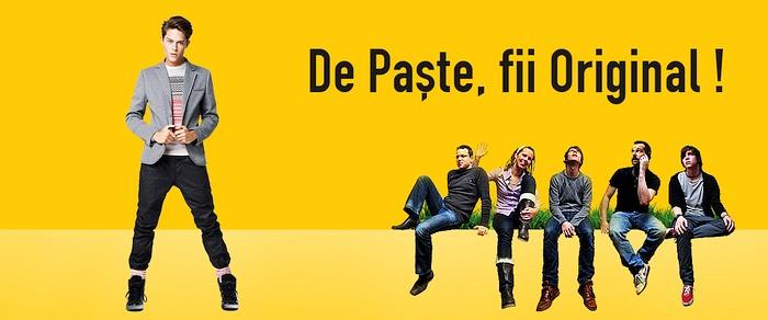 Originals.ro Campanie Paste 2014