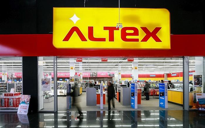 Intrare magazin Altex