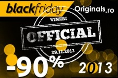 Originals Black Friday 2013: discounturile au atins 90%