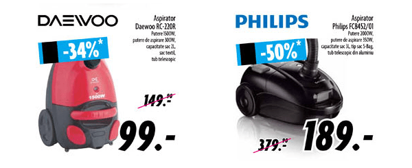 Aspiratoare DOMO Black Friday 2013