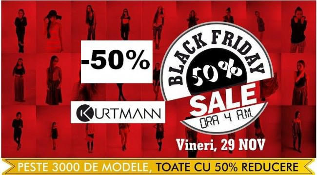 Black Friday 2013 la Kurtmann