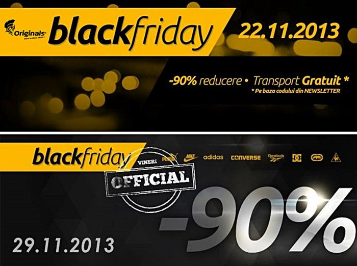 Originals Black Friday 2013