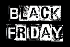 Black Friday black and white