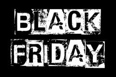 Black Friday black and white