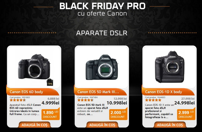 Black Friday PRO F64 Canon