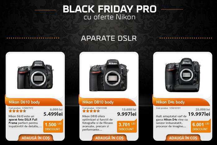 Black Friday PRO F64 Nikon