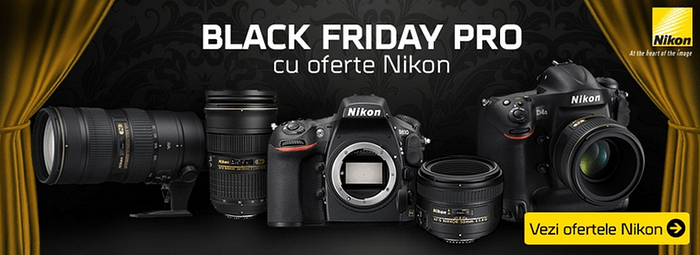 Black Friday PRO Nikon la F64