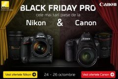 Black Friday PRO Nikon vs Canon