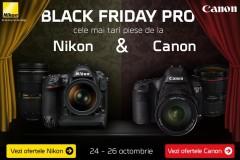 Black Friday PRO Nikon vs Canon
