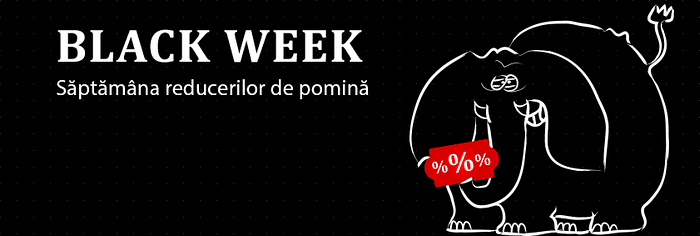 Black Week Elefant