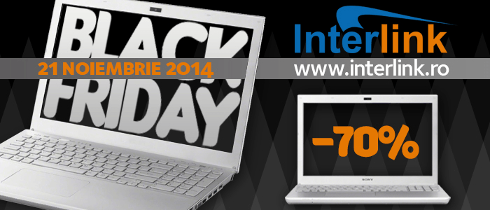 Campanie Interlink Black Friday 2014