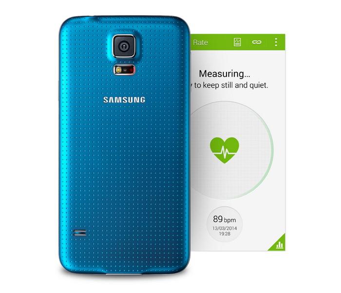 Heart rate Samsung Galaxy S5