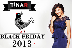 Black Friday 2013 la TinaR: transport gratuit si pana la 85% discount