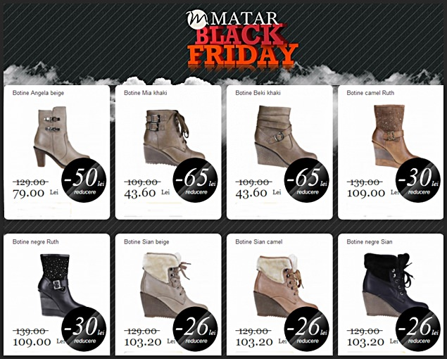 Black Friday 2013 la Matar