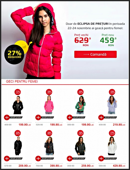 Fashion Black Friday 2013 la ZorileStore