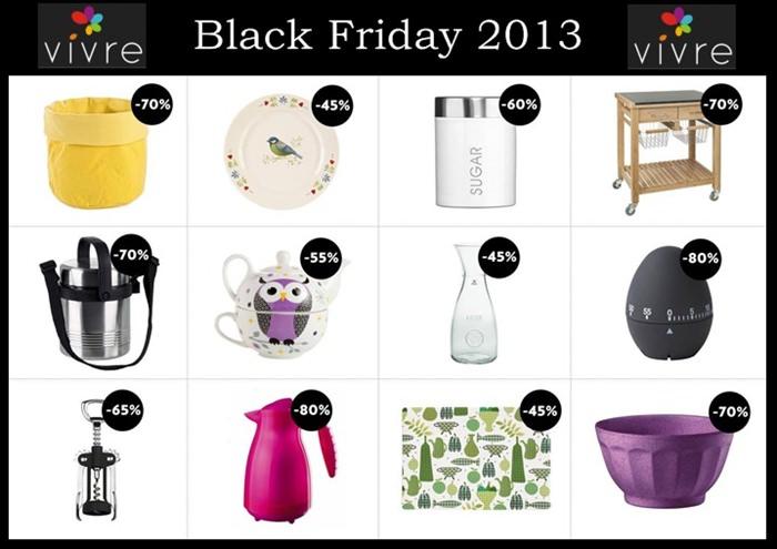 Black Friday 2013 la Vivre