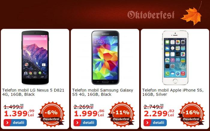 Reducere Samsung Galaxy S5