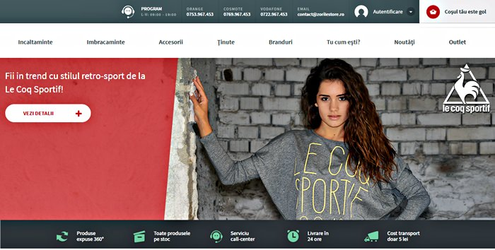 Site ZorileStore
