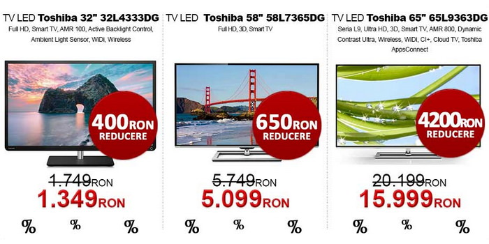 Televizoare evoMAG Black Friday 2013