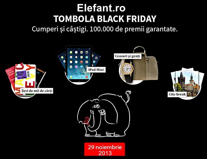 Cadouri black friday 2013 elefant