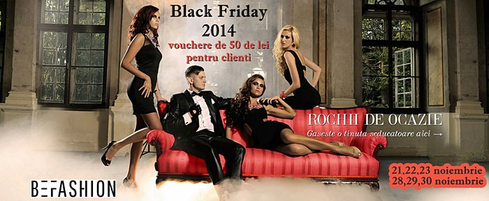 Black Friday 2014 BeFashion