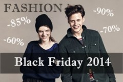 Black Friday 2014 la magazinele de fashion online